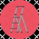 Ladder Safety Work Icon