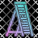 Ladder Construction Tools Icon