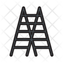 Construction Ladder Stairs Icon