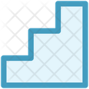 Business Growth Ladder Icon