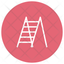 Ladder Stairs Growth Icon