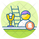 Ladder Of Success Competition Career Path Icon