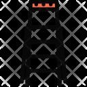 Ladder Repair Construction Icon