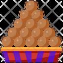 Laddu Indian Dessert Icon