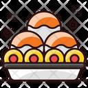 Laddus Indian Dessert Snack Icon