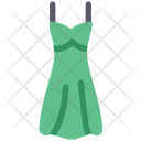 Ladies Dress Cocktail Icon
