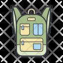 Ladies Backpack Icon