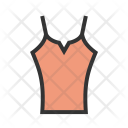 Ladies Vest Icon