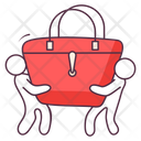 Ladies Hand Bag Icon