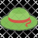 Ladies Hat Hat Beach Hat Icon