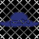 Cowboy Hat Floppy Hat Hat Icon