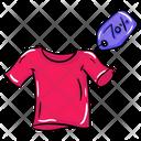 Ladies Shirt Woman Dress Blouse Icon