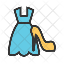 Ladies shopping Icon
