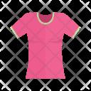Ladies tshirt Icon