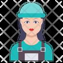Worker Ladies Female Icon