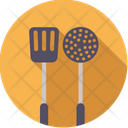 Ladle and Spatula Icon
