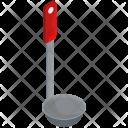 Ladle Kitchen Tool Icon