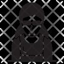 Lady Female Avatar Icon