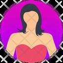 Lady English Woman Female Icon