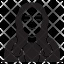 Lady Grandma Female Icon