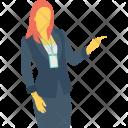 Female Woman Lady Icon