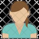 Female Lady Woman Icon
