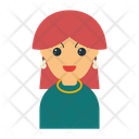 Girl Mother Family Icon