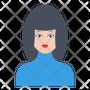 Female Women Girl Icon