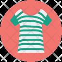 Lady Shirt Wear Icon