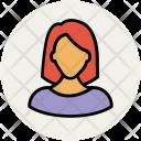 Lady Female Woman Icon