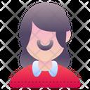 Lady Girl Woman Icon