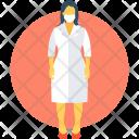 Lady Doctor Surgeon Icon