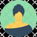 Lady English Woman Icon