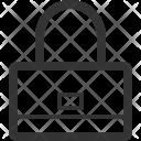 Lady Bag Dress Icon