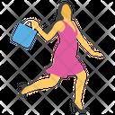 Customer Lady Customer Shopper Icon