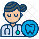 Doctor Dentist Woman Icon
