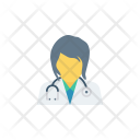 Ladydoctor Woman Health Icon