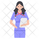 Lady Doctor Avatar Icon