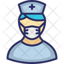 Doctor Avatar Lady Doctor Medical Assistant Icon
