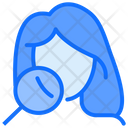 Lady Face Treatment Icon