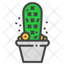 Lady finger cactus Icon