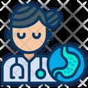 Lady Gastroenterologist Icon