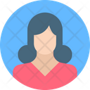 Lady Servant Female Girl Icon