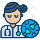 Doctor Therapist Woman Icon