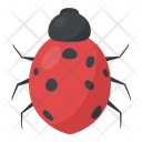 Bird Red Insects Icon