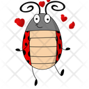 Ladybug In Love Icon