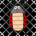 Ladybug In Sock Icon