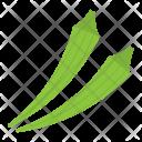 Okra Lady Finger Gumbo Icon