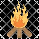 Lag Baomer Flames Icon