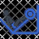 Exercise Gym Leg Icon